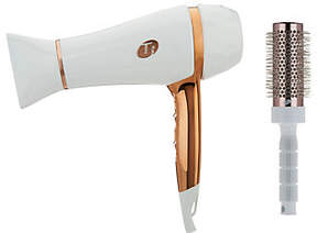 T3 Tourmaline Featherweight Luxe 2i Hair Dryer w/ Barrel Brush