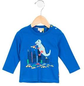 Paul Smith Boys' Marny Dinosaur Print Shirt w/ Tags