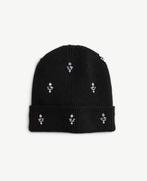 Ann Taylor Embellished Knit Hat