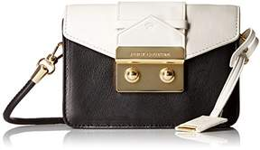 Juicy Couture Label Mini Crossbody Bag with Envelop Flap with Gold Latch with A Top Handle Option