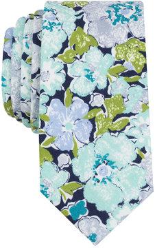 Bar III Men's Garden Springs Floral Skinny Tie, Created for Macy's