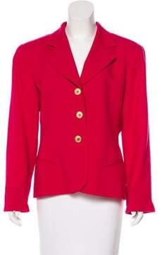 Christian Dior Structured Wool Blazer