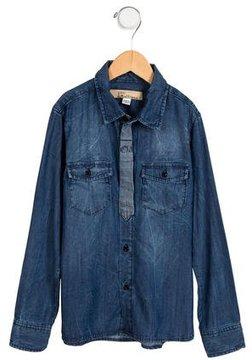 John Galliano Boys' Chambray Button-Up Shirt