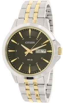 Citizen Men's BF2018-52E Silver Stainless-Steel Quartz Dress Watch