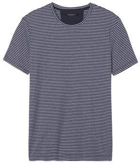 Banana Republic Luxury-Touch Stripe Crew-Neck T-Shirt