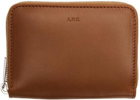 A.P.C. Brown Dallas Wallet