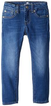7 For All Mankind Kids The Skinny Jeans in Hyde Park Girl's Jeans