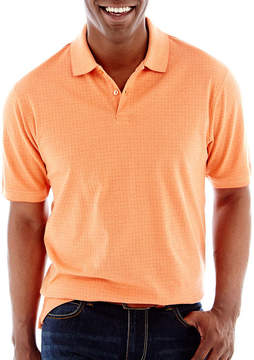 Haggar Mini Box Polo Shirt