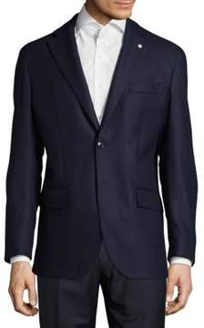 Lubiam Modern Fit Textured Wool Sportcoat