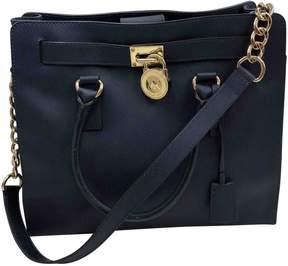 MICHAEL Michael Kors Hamilton Blue Cloth Handbag