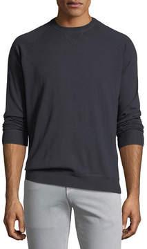 Loro Piana Silk-Cashmere Crewneck Sweater