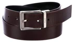 Salvatore Ferragamo Reversible Patent Leather Belt