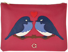 C. Wonder Love Birds Zip Top Large Pouch
