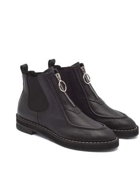 Carven Orsay Chelsea Boots