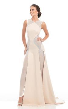 Johnathan Kayne 7113 Sleeveless Shimmering Evening Gown