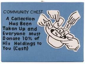 Olympia Le-Tan Community Chest clutch bag