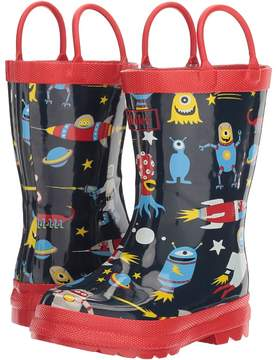 Hatley Space Aliens Rain Boots (Toddler/Little Kid)