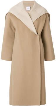 Agnona cape collar coat
