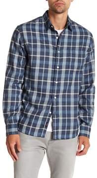 Faherty BRAND Ventura Plaid Long Sleeve Trim Fit Shirt