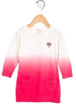 Billieblush Girls' Ombré Sweater Dress