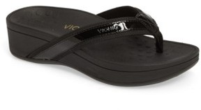 Vionic Women's High Tide Wedge Flip Flop