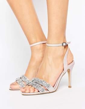 Faith Dash Embellished Heeled Sandals