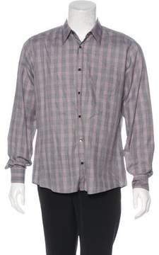 Dries Van Noten Plaid Woven Shirt