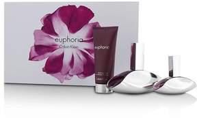 Calvin Klein Euphoria Coffret: Eau De Parfum Spray 100ml/3.4oz + Eau De Parfum Spray 30ml/1oz + Sensual Skin Lotion 100ml/3.4oz