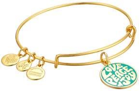 Alex and Ani Words are Powerful Love Peace Joy Bangle Bracelet