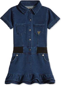 GUESS Guess' Denim-Look Dress, Little Girls (4-6X)
