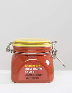 Anatomicals Glow Thanks To Joe Coffee Salt Scrub 650g