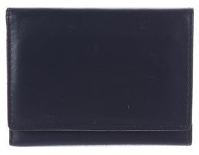 Marc Jacobs Leather Flap Cardholder
