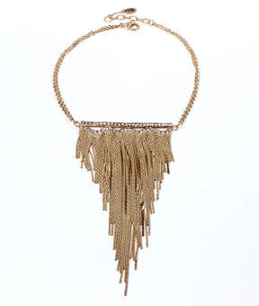 Amrita Singh Austrian Crystal & Goldtone Fringe-Accent Statement Necklace