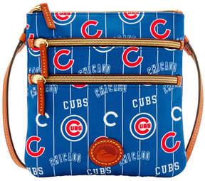 Dooney & Bourke Chicago Cubs Nylon Triple Zip Crossbody