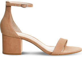 Office Finley suede heeled sandals