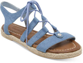 Nautica Multi Hull Espadrille Flats Women's Shoes