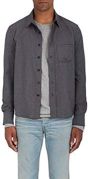 Simon Miller Men's Radnor Wool Twill Shirt