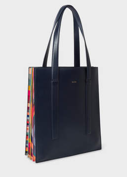 Paul Smith Women's Navy 'Concertina Swirl' Tote Bag
