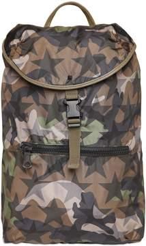 Camustars Printed Nylon Backpack