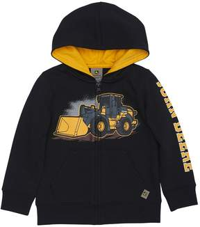 John Deere Toddler Boy Front Loader Zip Hoodie