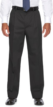 Croft & Barrow Men's Relaxed-Fit Easy-Care Stretch Pleated Casual Pants