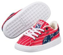 Puma Basket Classic 4th of July Kids Sneakers
