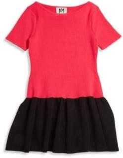 Milly Minis Toddler's, Little Girl's& Girl's Colorblock Flounce Dress