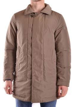 Peuterey Men's Brown Polyester Coat.