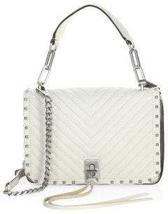 Rebecca Minkoff Small Leather Crossbody Bag - PUTTY - STYLE