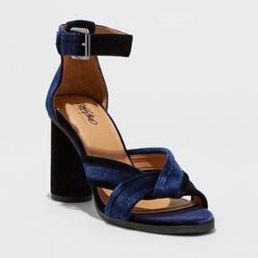 Mossimo Women's Genevieve Velvet Dress Quarter Strap Sandals