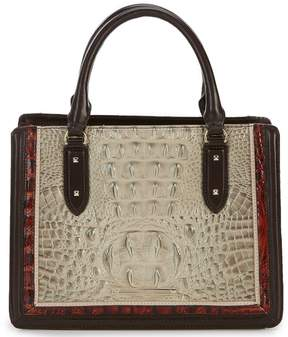 Brahmin Westwood Collection Colorblock Small Camille Satchel