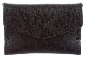 Giuseppe Zanotti Leather Envelope Cardholder