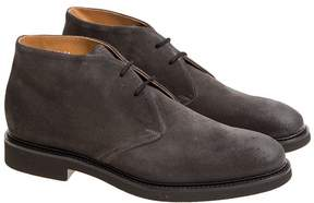 Doucal's Suede Derby Lace-up Shoes
