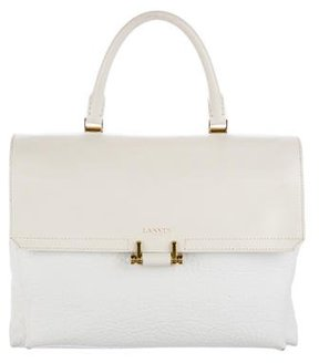 Lanvin Essential Leather Satchel